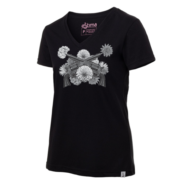 Camiseta Feminina Gunflowers