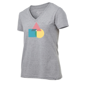 Camiseta Feminina Shapes