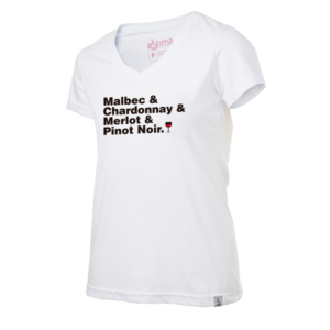 camiseta wine grapes