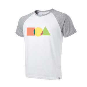Camiseta Raglan Shapes Too