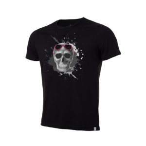 Camiseta Básica Skull Glasses